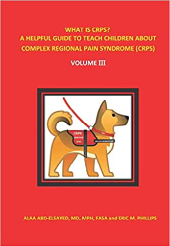 CRPS Book For Children Book Cover Image